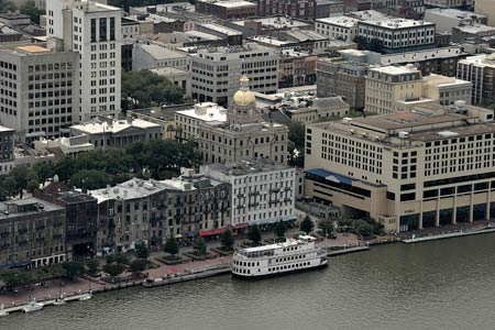 Historic Savannah Helicopter Tour