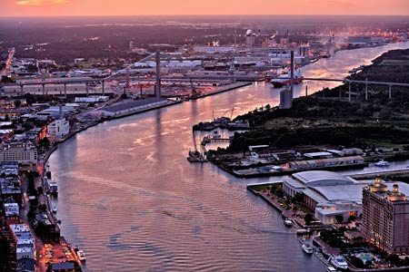 Savannah Talmage Bridge Tour offered by Southeast Helicopter